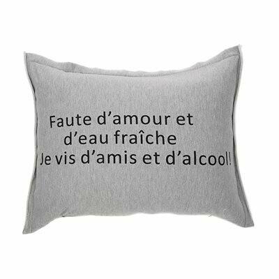 Coussin ''Faute d'amour''