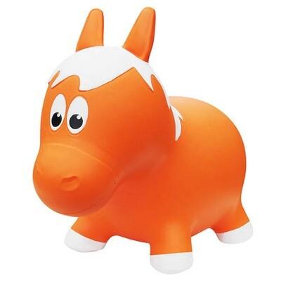 Animal rebondissant - Cheval Orange