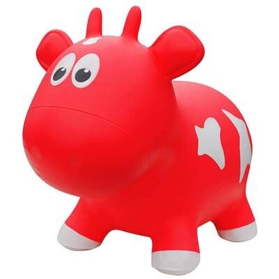 Animal rebondissant-Vache rouge