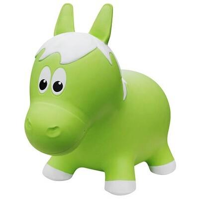 Animal rebondissant - Cheval vert