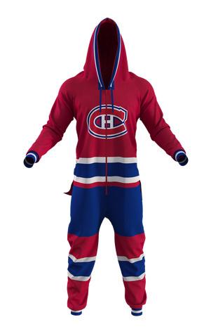 Pyjama une-pièce Canadiens de Montréal