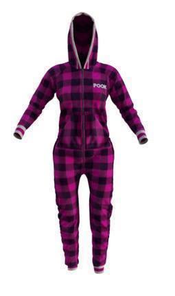 Pyjama une-pièce pour femme mauve