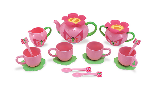 Service à thé papillon