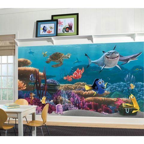 Grande murale Le monde de Nemo