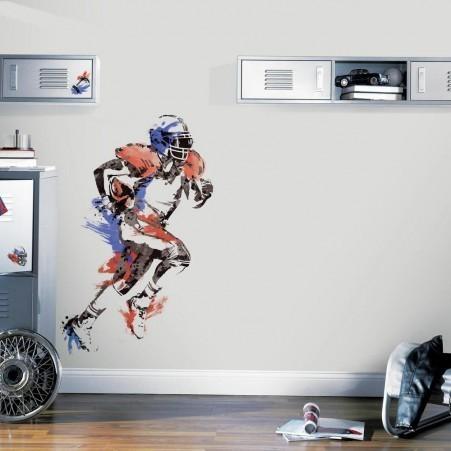 Collant mural champion de football