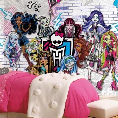 Grande murale Monster High