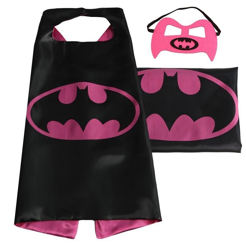 Cape et masque pour enfants Batgirl