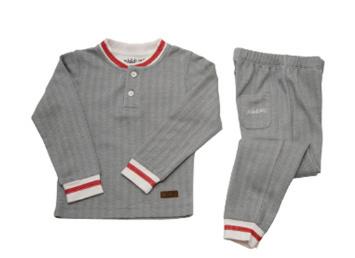 Pyjama 2 pièces Cozy Cottage Gris