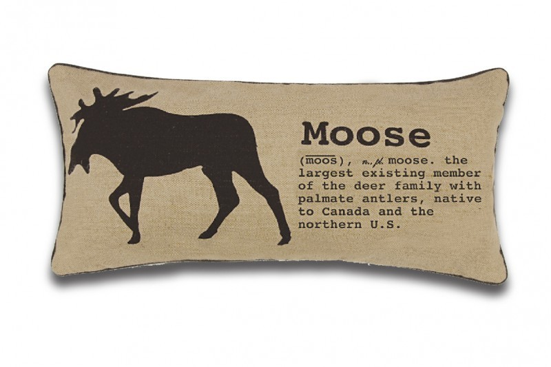 Coussin Moose (12'' x 25'')