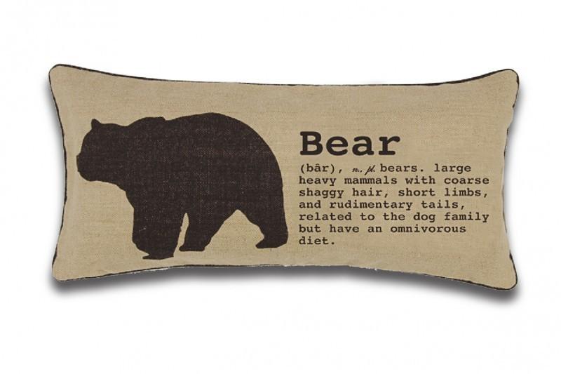 Coussin Bear (12'' x 25'')
