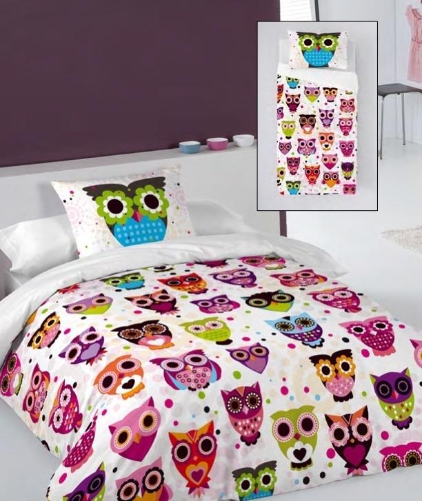 Housse de duvet Owls