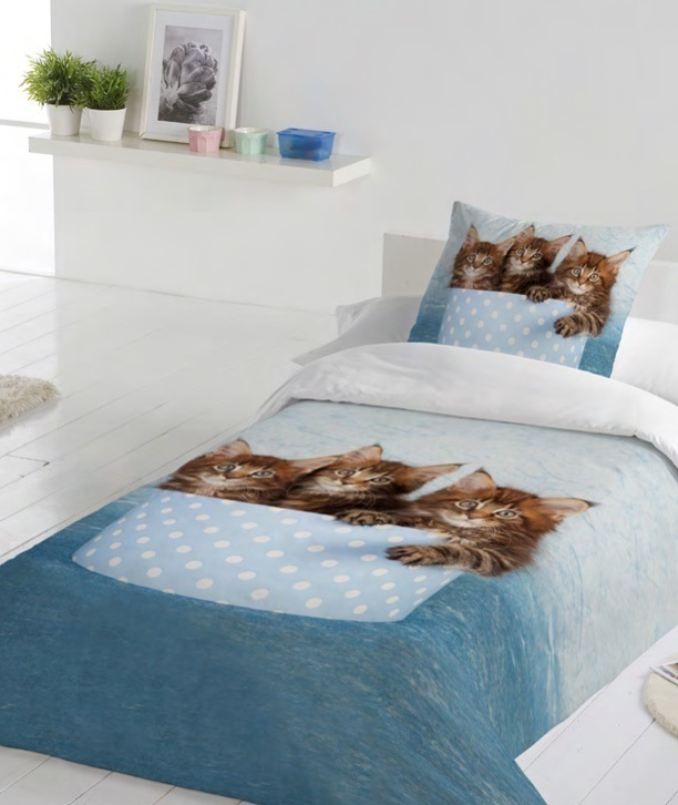 Housse de duvet Maine Coon Cats