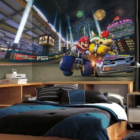 Grande murale Mario Kart