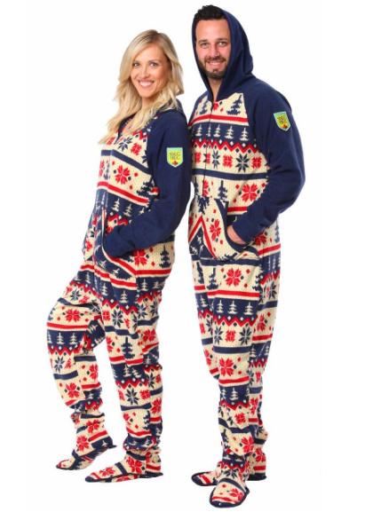 Pyjama à pattes adulte ''Nordic''