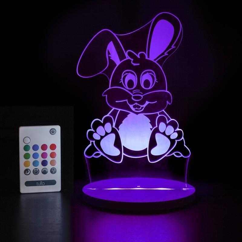 Veilleuse LED Tulio - Lapin