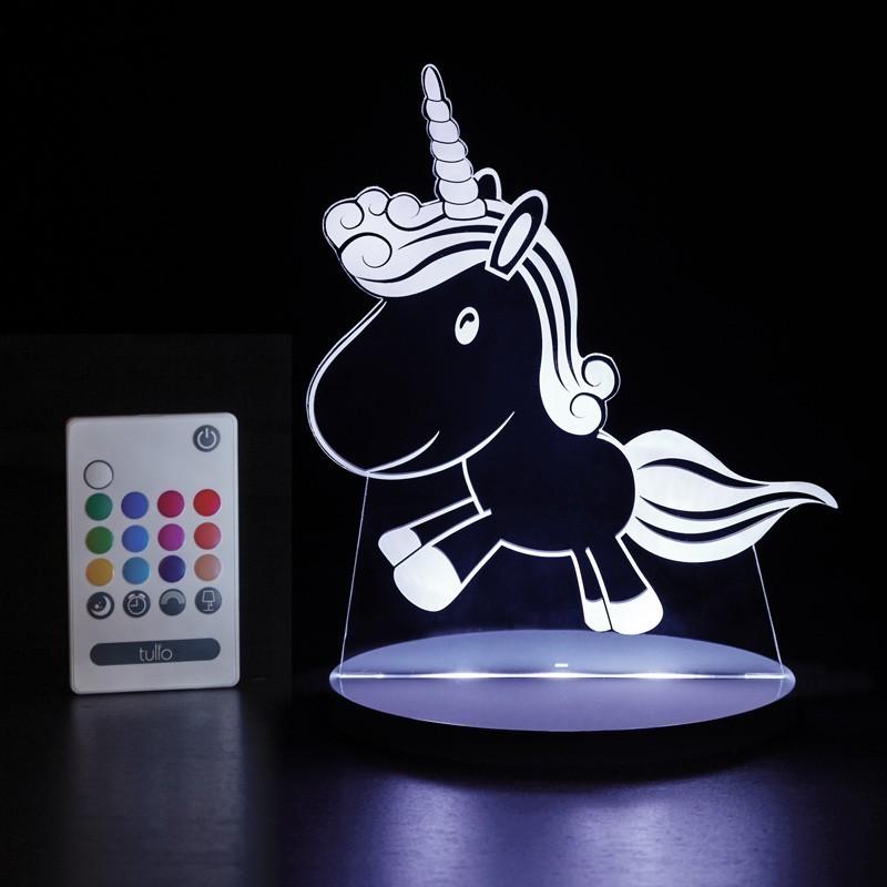 Veilleuse LED Tulio - Licorne