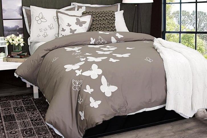 Housse de duvet Butterfly Kisses