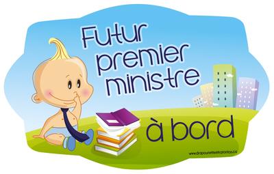 Futur premier ministre à bord