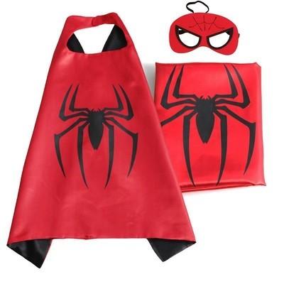 Cape et masque pour enfants Spiderman