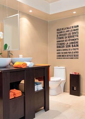 ''Règles de la salle de bain''