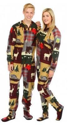 Pyjama à pattes ''Canada''