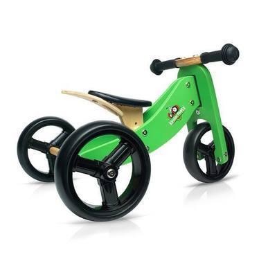 Draisienne 3 roues en bois ''Tiny Tot'' Vert