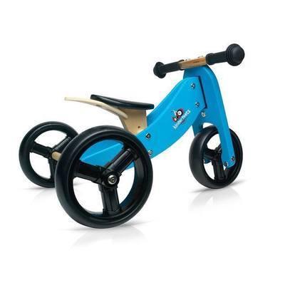 Draisienne 3 roues en bois ''Tiny Tot'' Bleu
