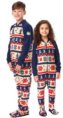 Pyjama à pattes bébé/enfant ''Nordic''