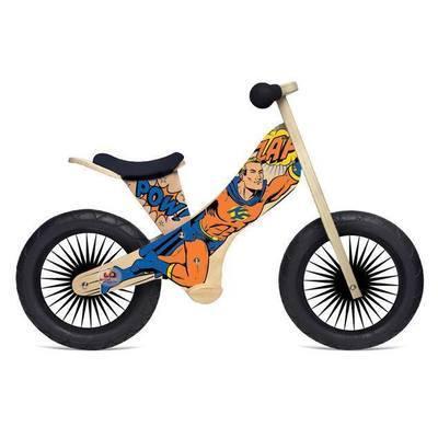Draisienne en bois 2 roues Superhero retro