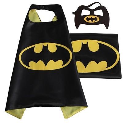 Cape et masque pour enfants Batman