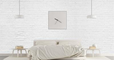 Murale Briques blanches 12' x 9'