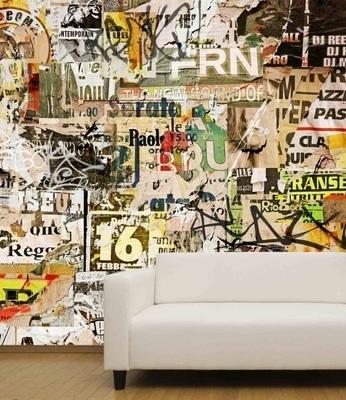 Murale Art de rue 9' x 9'