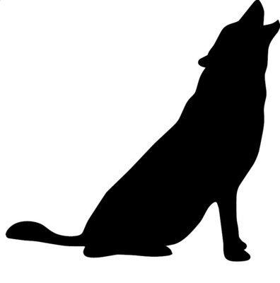 Silhouette de Loup