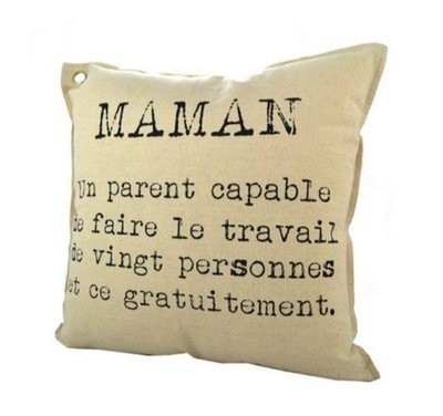 Coussin Maman