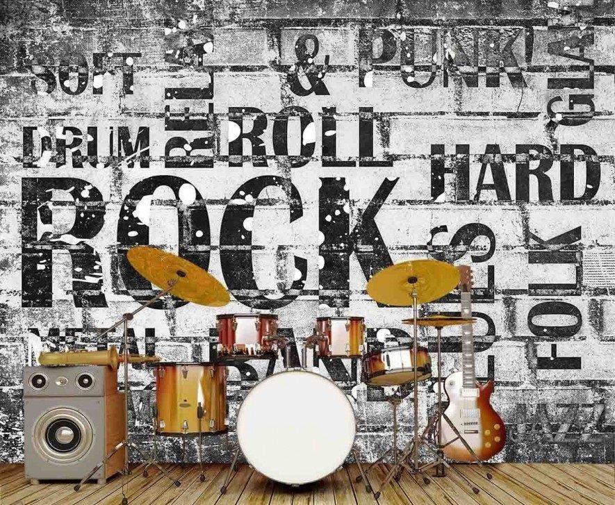 Musique Hard Rock 10.5' x 9'