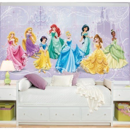 Grande murale Les princesses de Disney