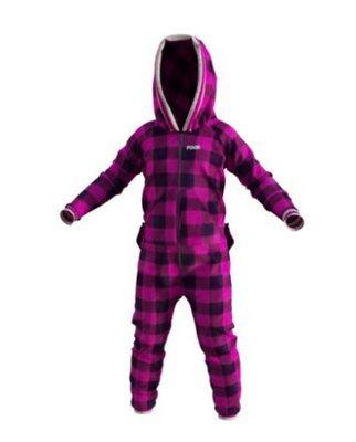 Pyjama une-pièce pour enfant mauve