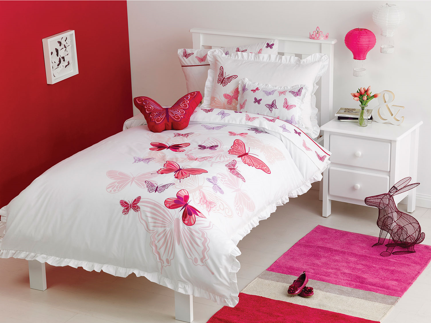 Housse de couette Fly Butterfly - SIMPLE