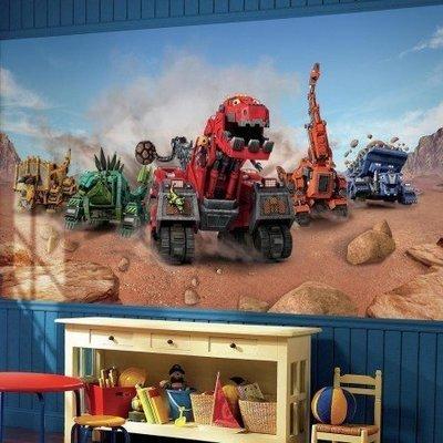 Grande murale Dinotrux