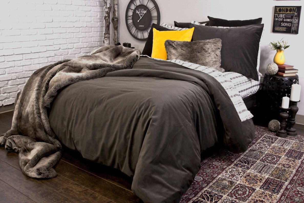 Housse de duvet Langtry (Taupe)