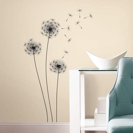 Collant mural Dandelion