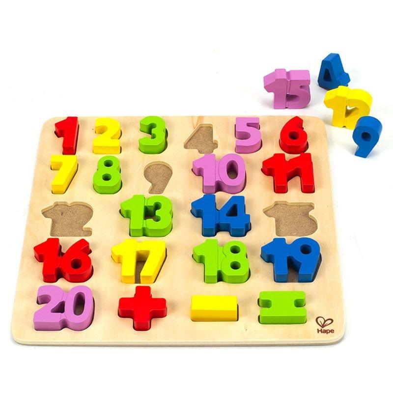 Puzzles de nombres