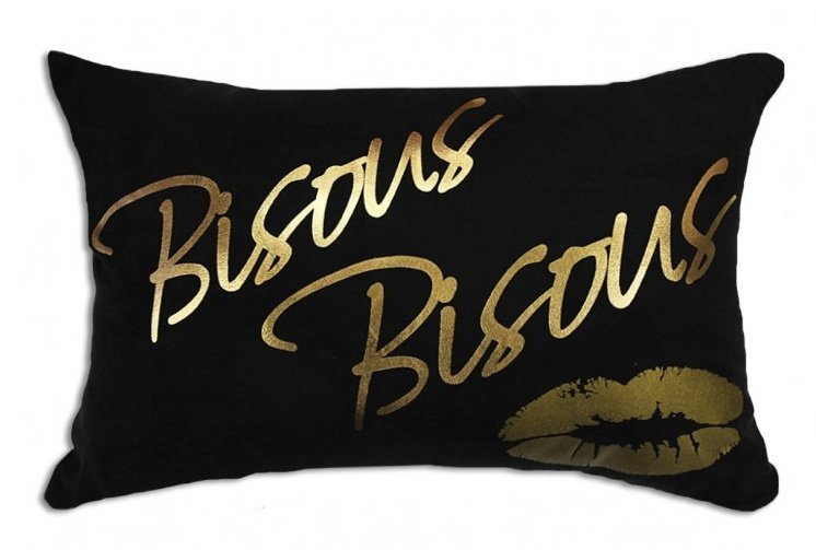 Coussin Bisous Bisous