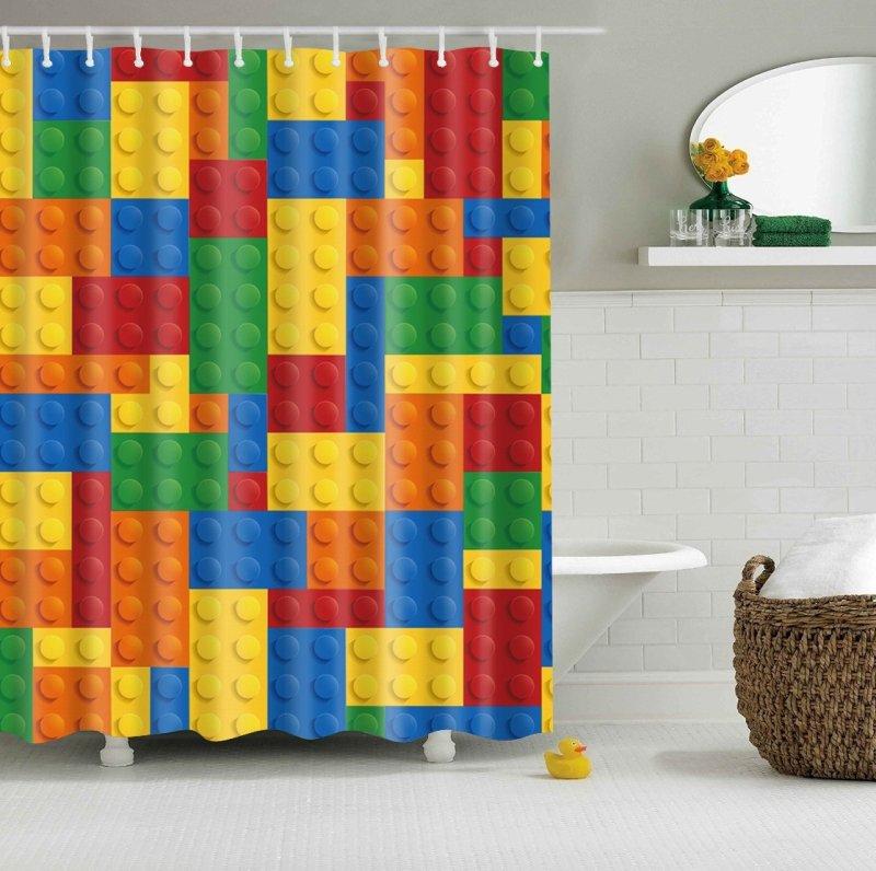 Rideau de douche - Lego
