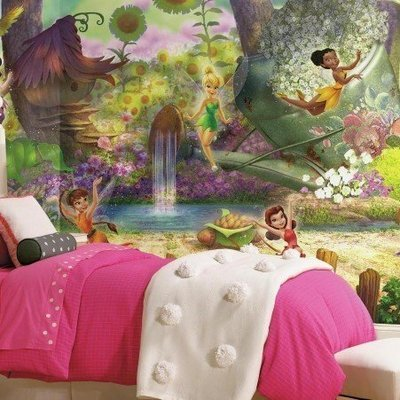 Grande murale Fée Disney