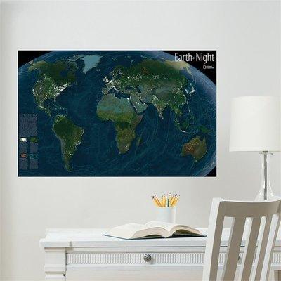Map du Monde (Brillent dans le noir)