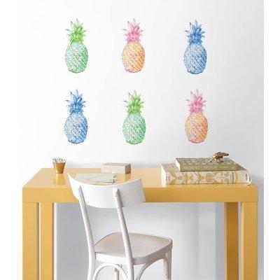 Collant mural Ananas POP!