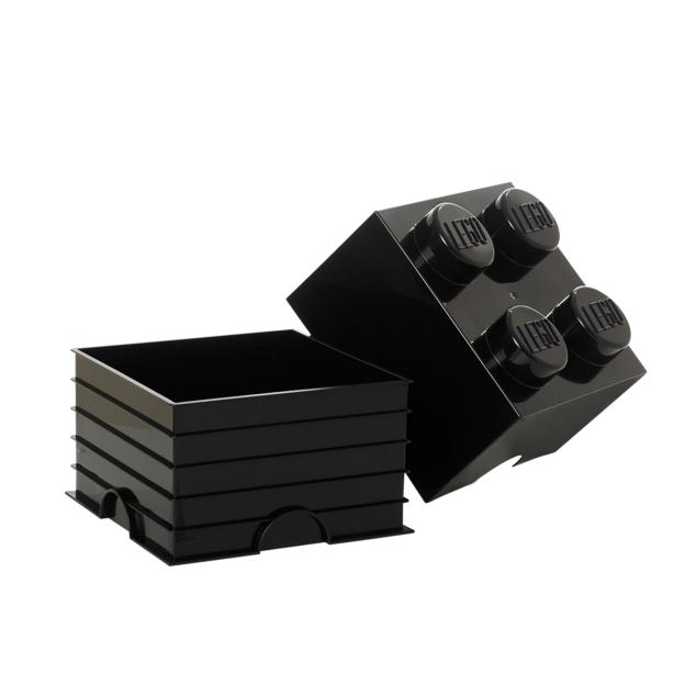 Petite boite de rangement LEGO noire