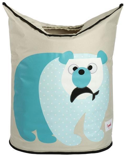 Panier à linge (ours polaire)