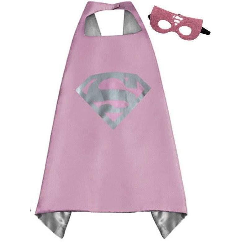 Cape et masque pour enfants Supergirl